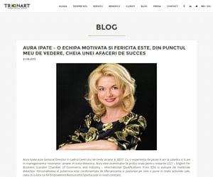 Interviu Aura Ipate Centrul de limbi straine A_best in Trainart.ro