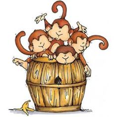 barrel-of-monkeys-clipart-1