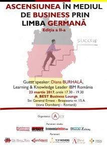 Ascensiunea in mediul de business prin limba germana, editia a II-a