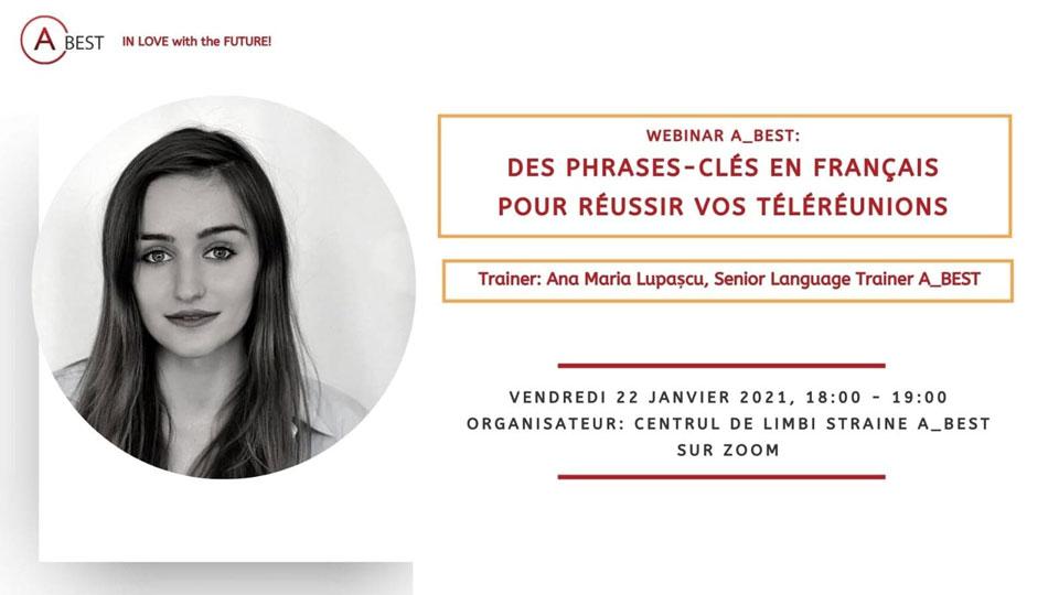 Webinarii limba franceza